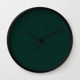 Deep Forest Wall Clock
