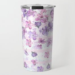 Make It Rain Flowers Travel Mug