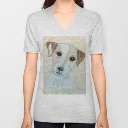 Parson Russell Terrier Unisex V-Neck