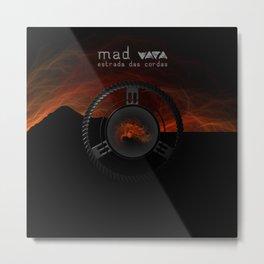 """Vaca - MP: """"Mad Vaca - Estrada das Cordas"""" Metal Print"""