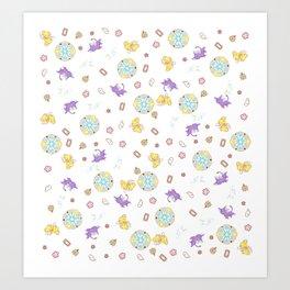 cardcaptor sakura magical pattern Art Print