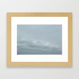 Lake Cloud Framed Art Print