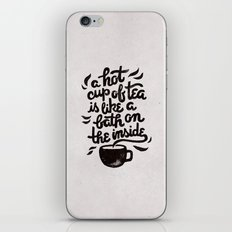 Hot Tea iPhone & iPod Skin