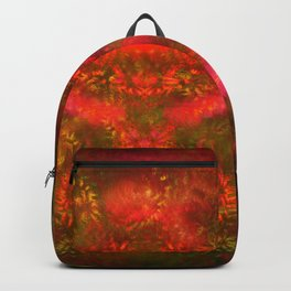 Luminous Fireplace Backpack