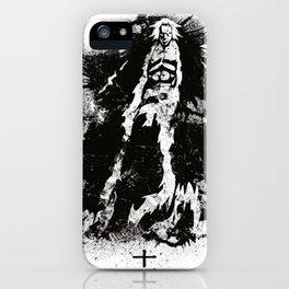 Zaraki - Black Abstract iPhone Case