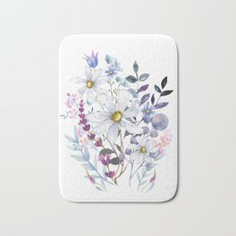 Wildflowers V Bath Mat