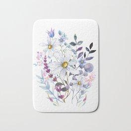 Wildflowers V Bath Mat