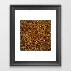 Seamless pattern Framed Art Print