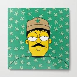 El Chapo Metal Print