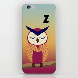 nocturnal [pt.3] iPhone Skin