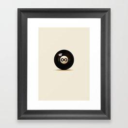 Infinity Ball Framed Art Print
