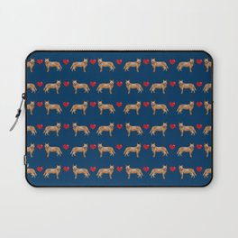 Australian Cattle Dog red heeler hearts love dog breed gifts cattle dogs Laptop Sleeve