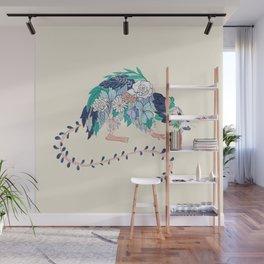 Flowered Rat Wall Mural