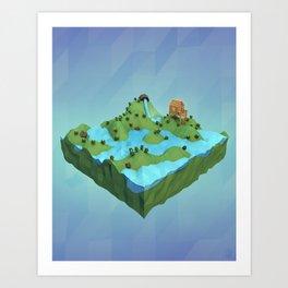 Thousand Islands Art Print