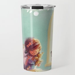 Snow White and the Seven Doggies Travel Mug