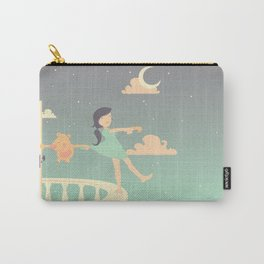 Sleepwalking Girl Carry-All Pouch
