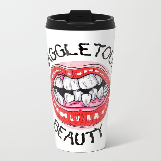 Snaggletooth Beauty Metal Travel Mug