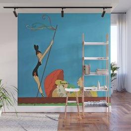 """Gondola Ride"" by Annie Fish Wall Mural"