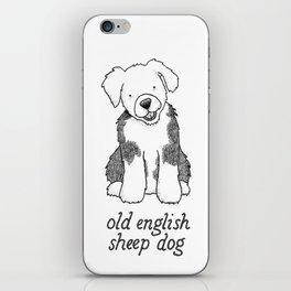 Dog Breeds: Old English Sheep Dog iPhone Skin