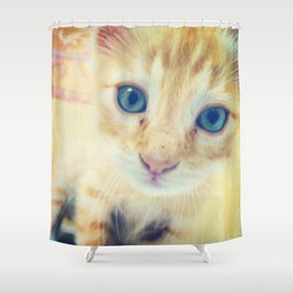 Le Chat Rouge Shower Curtain