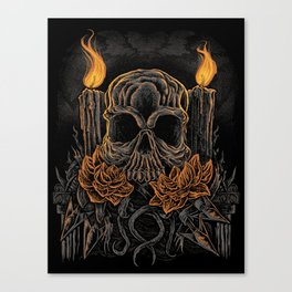 Offering Death Canvas Print