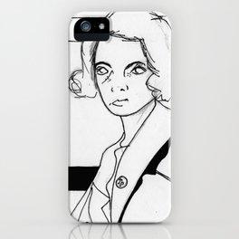 Donna Hayward iPhone Case