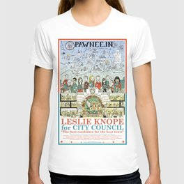 Leslie Knope for City Council - Parks and Recreation Dept. T-shirt