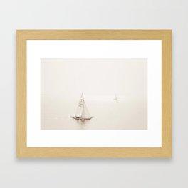 Sailing Seas Framed Art Print