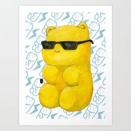 summer gummy bear Art Print
