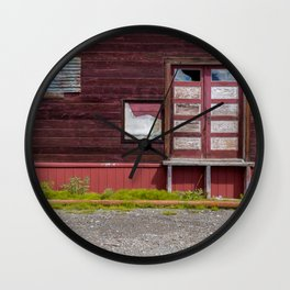 Abandoned patterns. Wall Clock