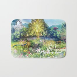The Heart of The Forest Bath Mat