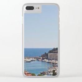 Monaco Clear iPhone Case