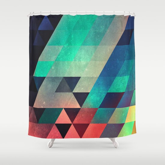 whw nyyds yt Shower Curtain