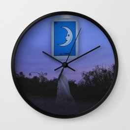 La Luna Wall Clock