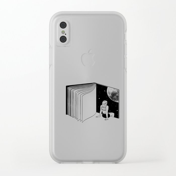 9310cfa79645b Reading is Dreaming with Your Eyes Open Clear iPhone Case by hennkim ...