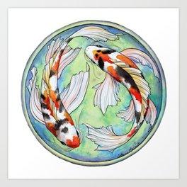 Koi Harmony Art Print