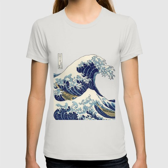 The Great Wave off Kanagawa by camillegc