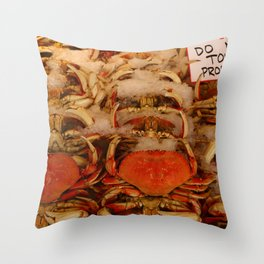 Don`t Touch Me Throw Pillow