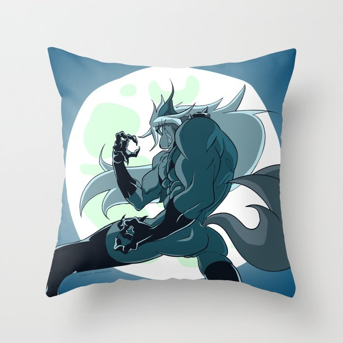 Beatrix Dominatrix (Peepoodo) Throw Pillow