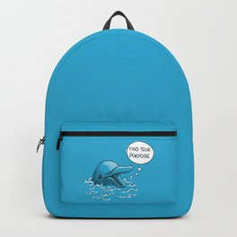 Find Your Porpoise Backpack