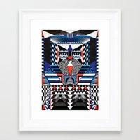 sandman Framed Art Prints featuring SandMan by Anai Greog