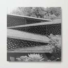 Roofs of Kengo Kuma 2 Metal Print