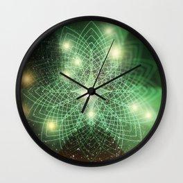 Geometry Dreaming Wall Clock