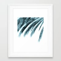 palm Framed Art Prints featuring palm by Sweet Karalina