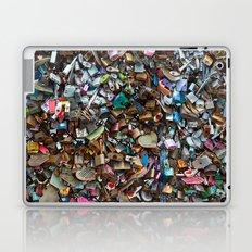 Wall of Love Locks Laptop & iPad Skin