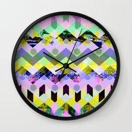 Diamond Chaos Wall Clock