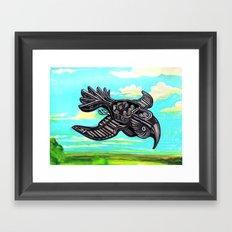 Modern Migration Framed Art Print
