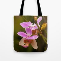 orchid Tote Bags featuring Orchid by Julio O. Herrmann