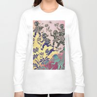 kids Long Sleeve T-shirts featuring kids by Shelby Claire