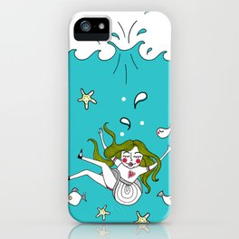 Dive In! iPhone Case